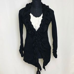 Beautiful and shimmering cardigan.